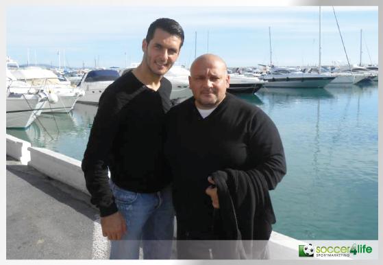 Nedzad Aljic mit Emir Spahic (HSV)
