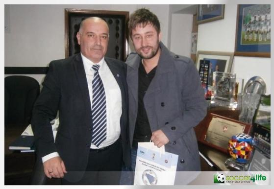 General Sekretär Bosnien Herzegowina und Journalist Begic Almedin