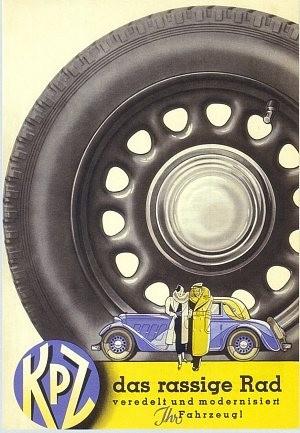 Werbung  Kronprinz-Stahlräder/Solingen