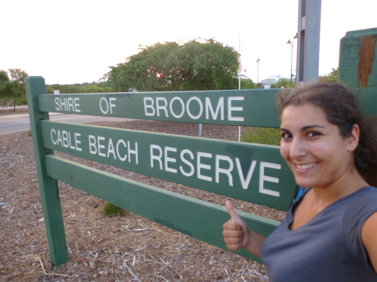 arrived in Broome