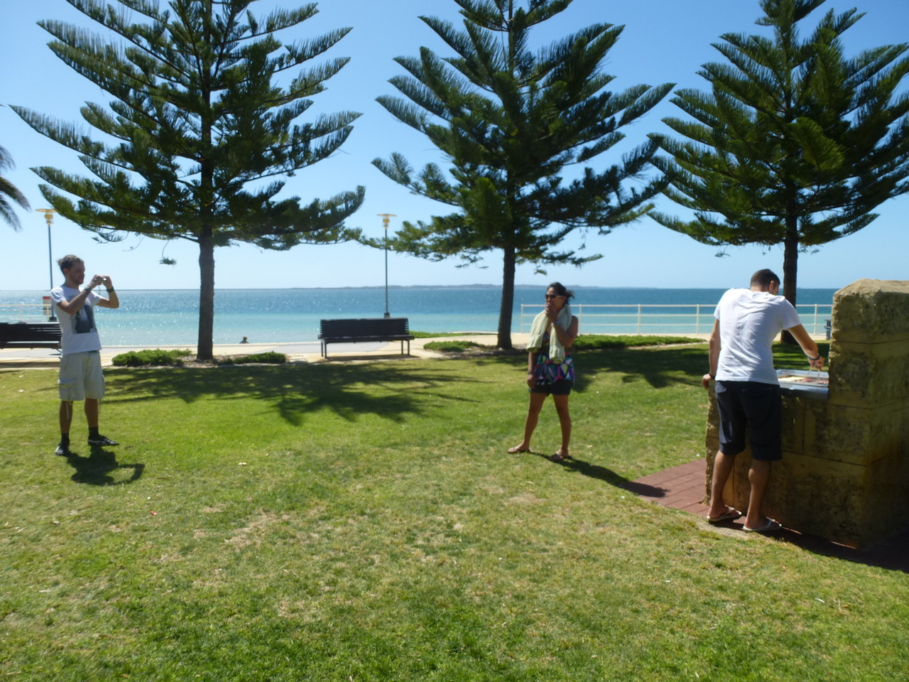 BBQ at Rockingham Beach