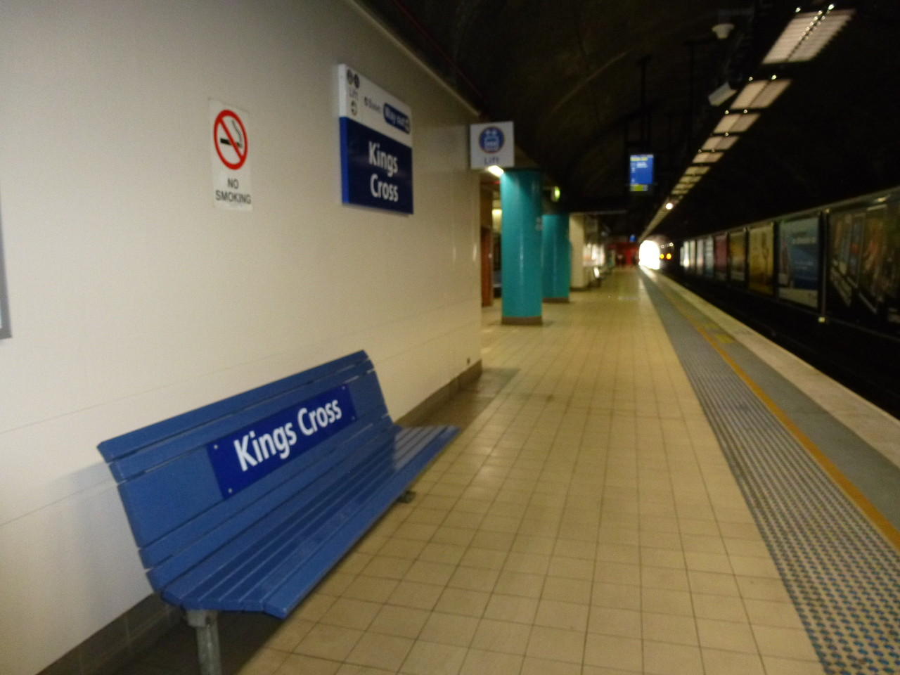 Kings Cross, aber auch nicht in London
