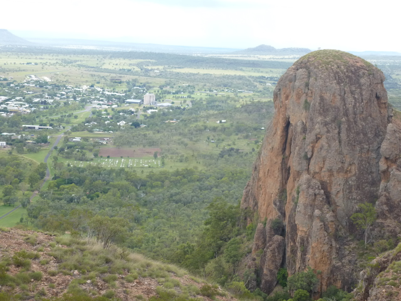 the Virgin Rock in Springsure