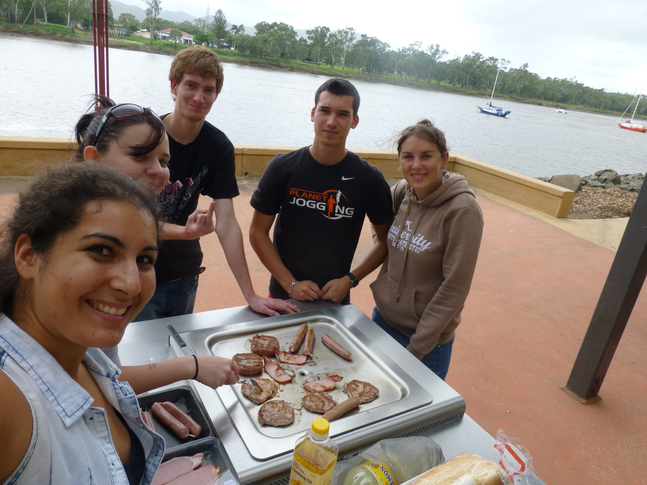 BBQ am Fitzroy river