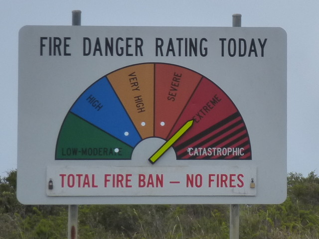 Fire Barn Anfang Januar überall in NSW