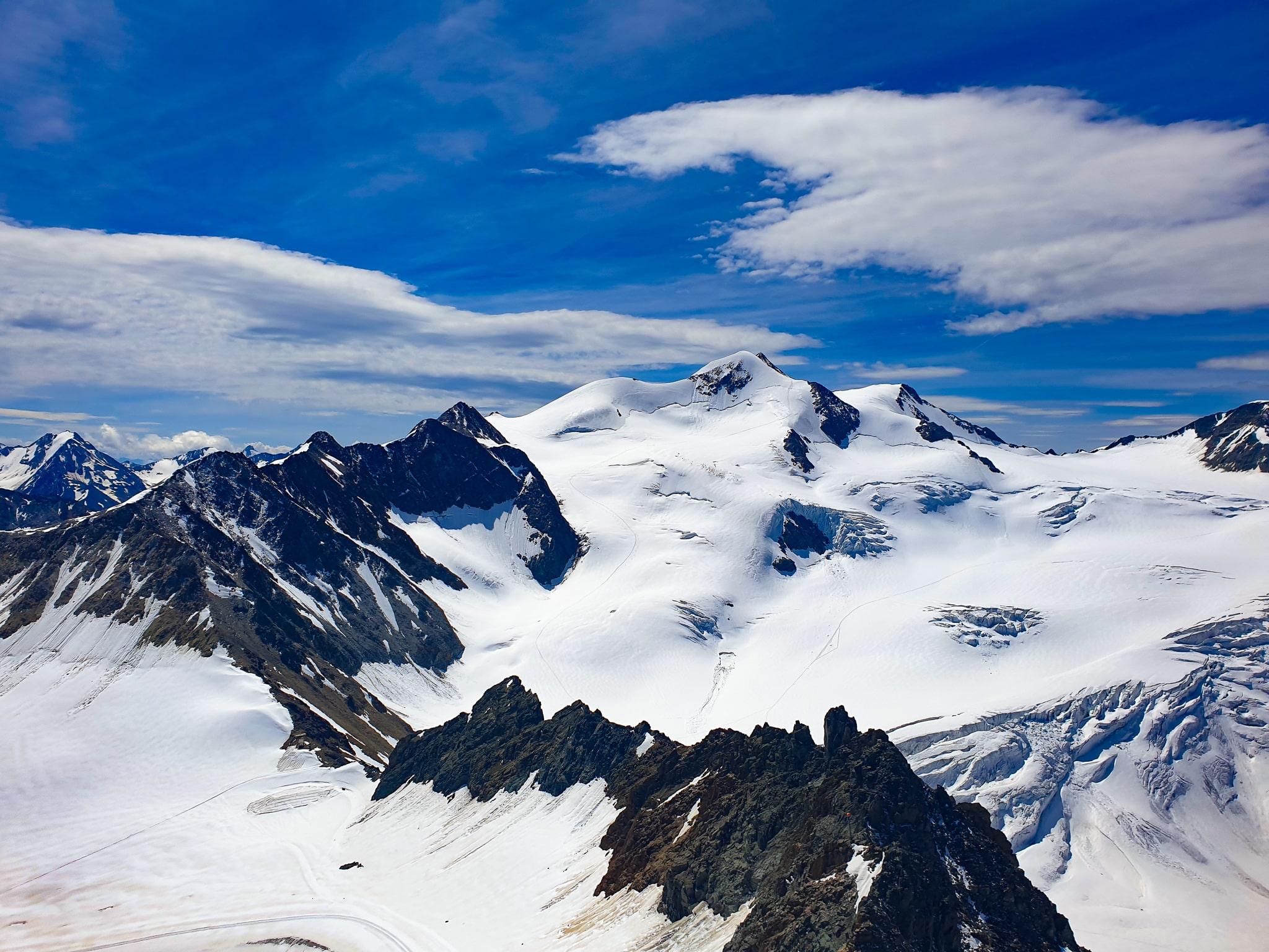 Panoramablick auf 3.440m