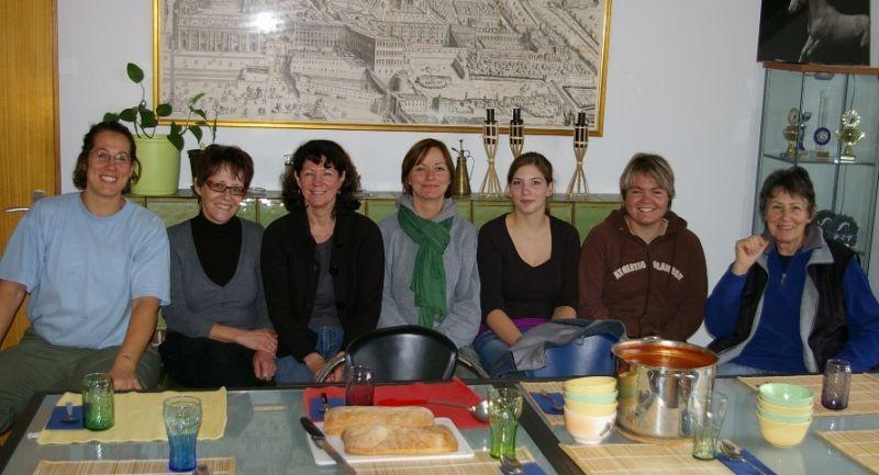Pascale Kull, Edith Pauli, Marianne Zryd, Monika Güdel, Jolanda Gautschi, Tanja Müdespacher, Susann Kull