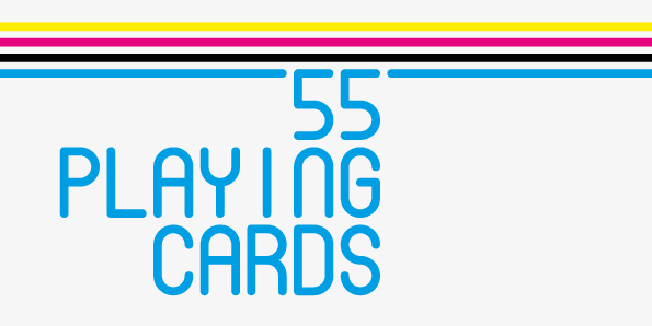 55 playing cards