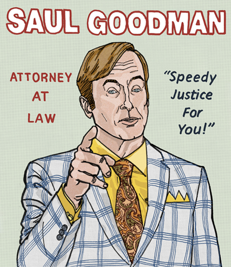 Saul Goodman - Better Call Saul/Breaking Bad