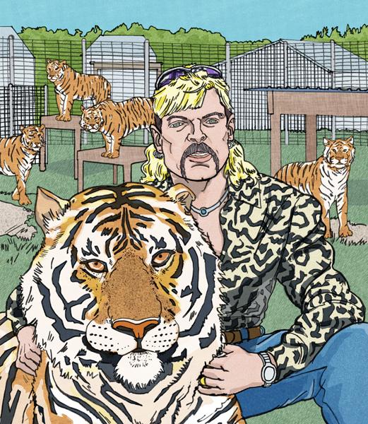 "Netflix - ""Tiger King: Murder, Mayhem, and Madness"""