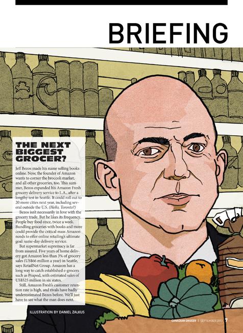 Canadian Grocer Magazine - Jeff Bezos