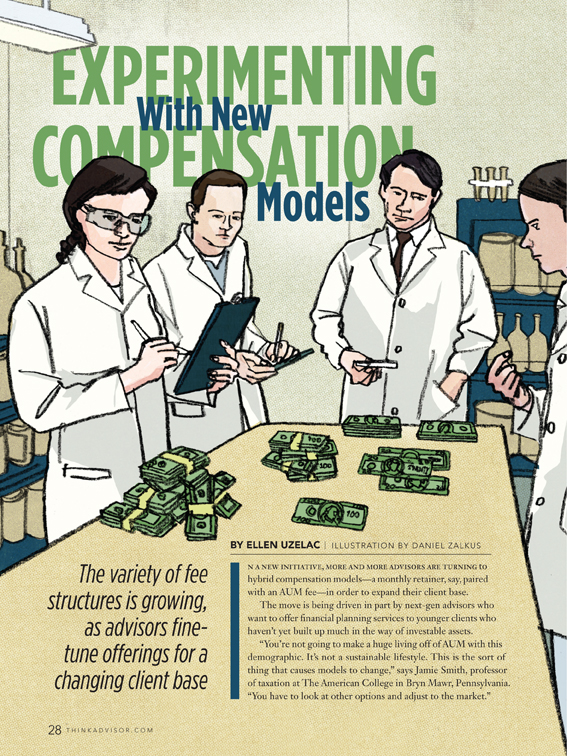 "Research Magazine - ""Experimenting With New Compensation Models"""