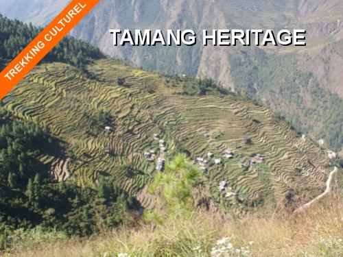 trekking au Népal - trek tamang heritage - langtang