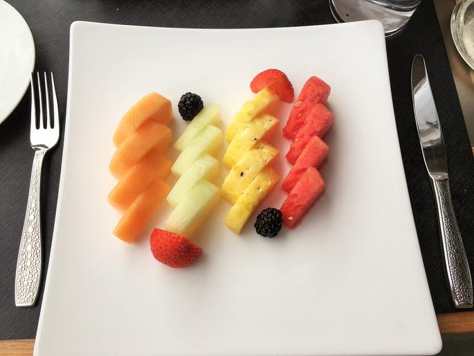 好きな食べ物は何ですか?フルーツです!