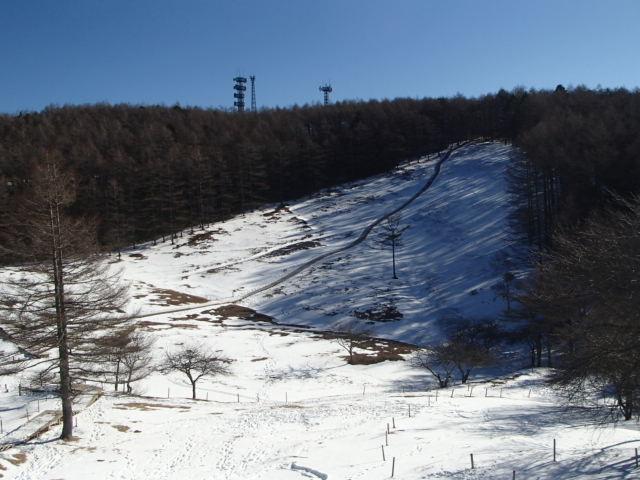入笠山おすすめのスノーシュートレッキングコース