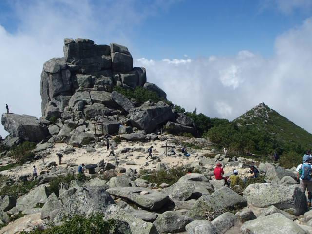 金峰山登山コース(廻り目平)