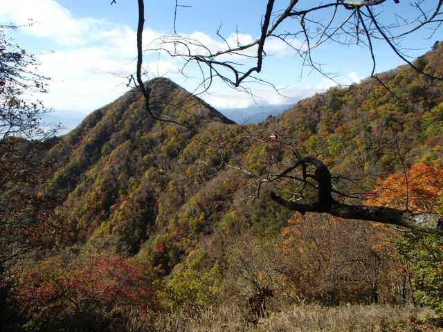 茅ヶ岳の難コース