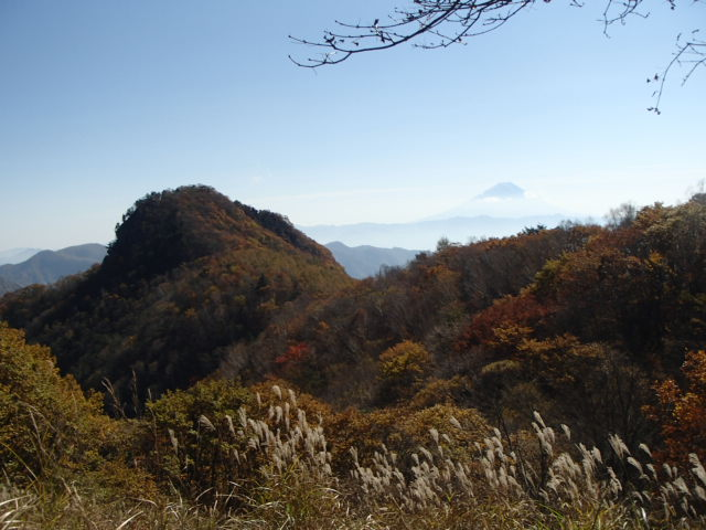 山梨百名山3山を巡る低山の山旅