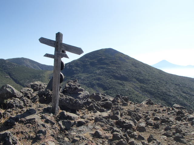 八ヶ岳・西岳~編笠山  周回プチ縦走コース