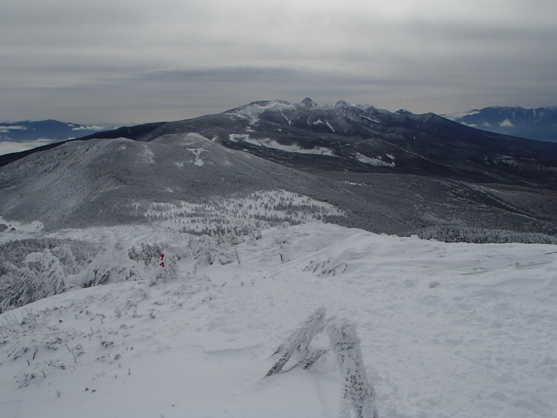北横岳スノーハイク