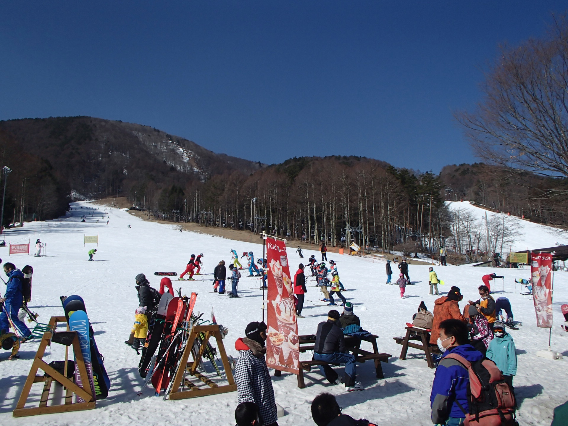 入笠山登頂スノーハイク