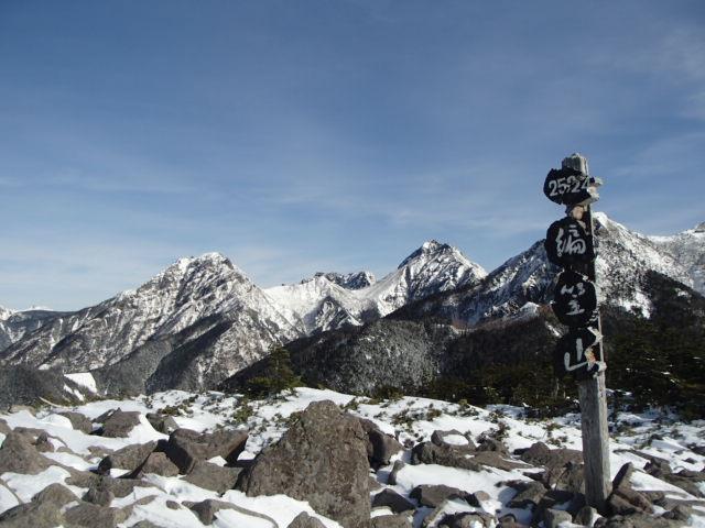 八ヶ岳積雪情報