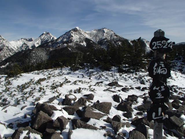雪山登山おすすめコース 編笠山と西岳