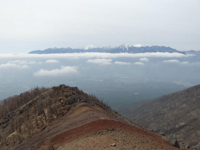 権現岳への古道