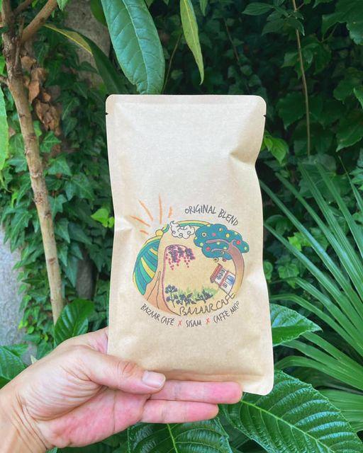 バザールカフェさんにコーヒー豆をお届けしました