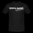 T-Shirt climbing rocks