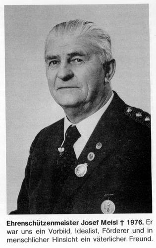 Josef Meisel  1964 - 1971    † 1976