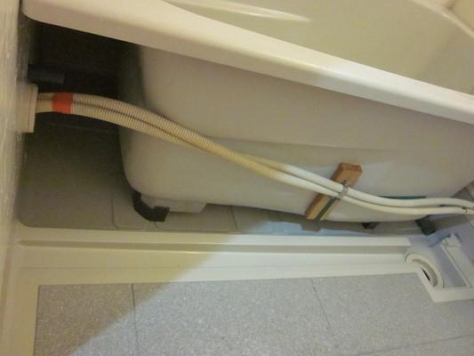 バスルームクリーニングの実例