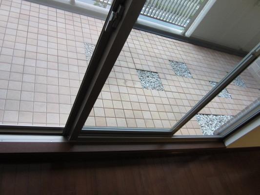 ガラスサッシ・網戸クリーニングの実例