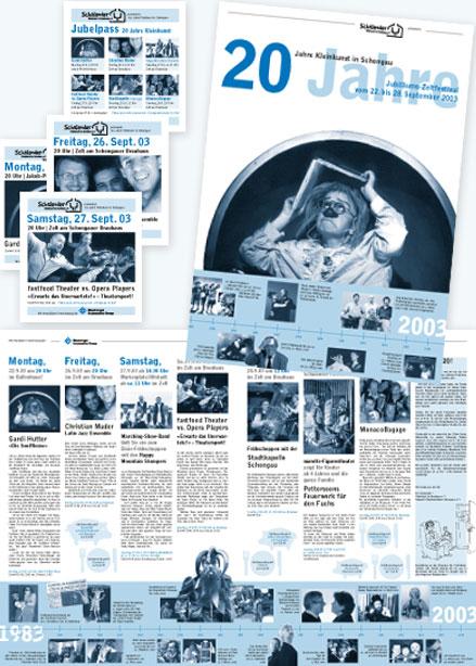 Jubiläumszeitung Kleinkunst