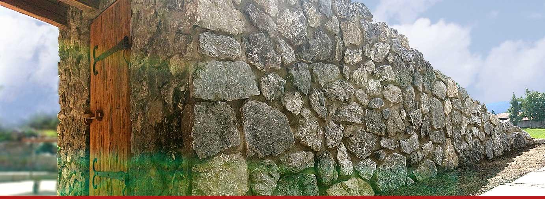 OBERAUER Mauerverblendung aus Naturstein