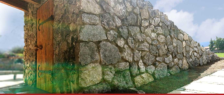OBERAUER Mauerverblendung/ Naturstein (Holzner Schotterwerk)