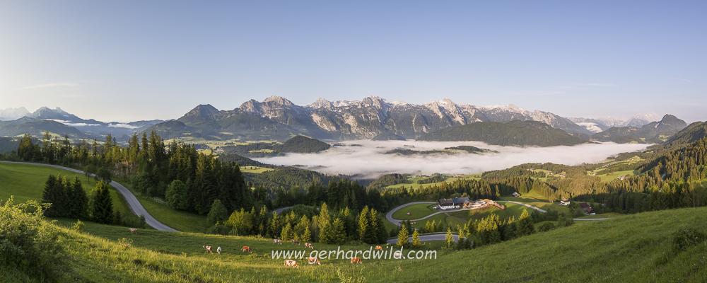 Lammertal und Tennengebirge