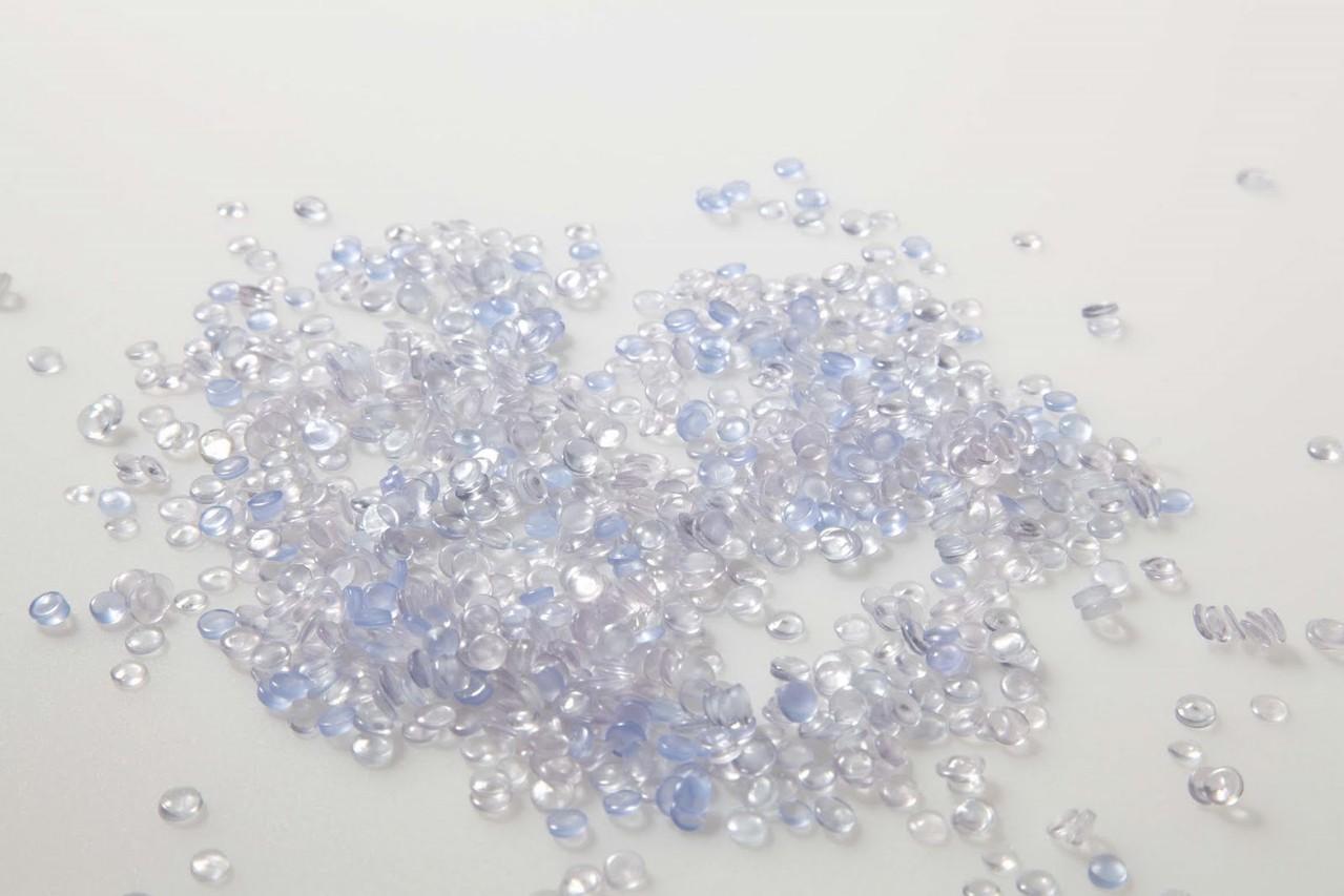 Hart PVC Granulat NT-Ware transparent