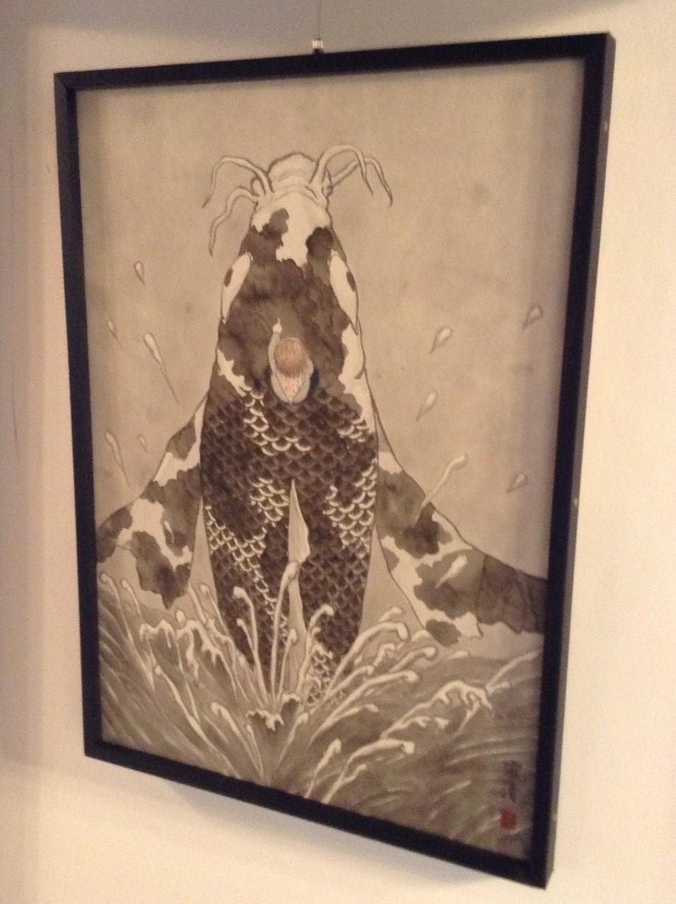 日本画もご出品頂いています