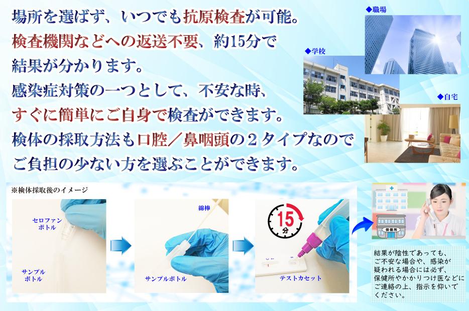 検査キット 検査 抗原検査 ウィルス 感染症 タイタン 足利