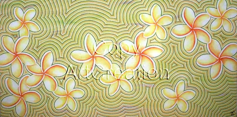 Frangipani / Rita Steiner ArtCreation