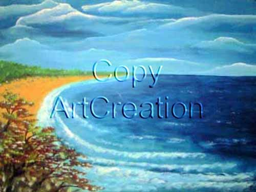 Beach / Rita Steiner ArtCreation