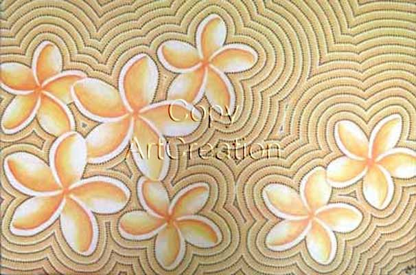 Yellow Frangipani / Rita Steiner ArtCreation