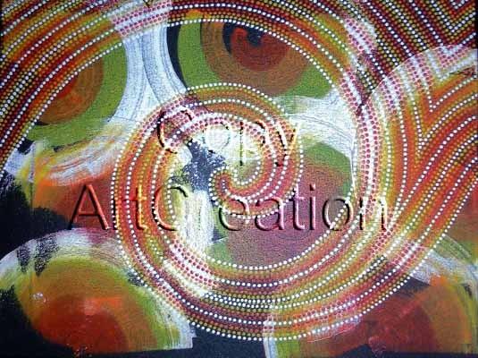 DotPainting003 / Rita Steiner ArtCreation