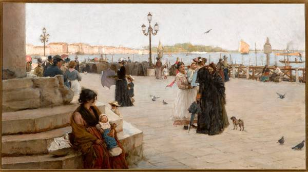 Alessandro Zerros, Al molo di San Marco