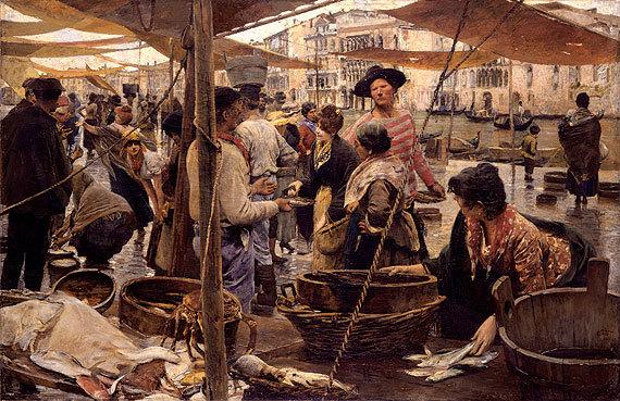 Ettore Tito, Pescheria Vecchia (1893)
