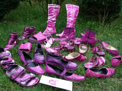 Quelle: pink shoe day