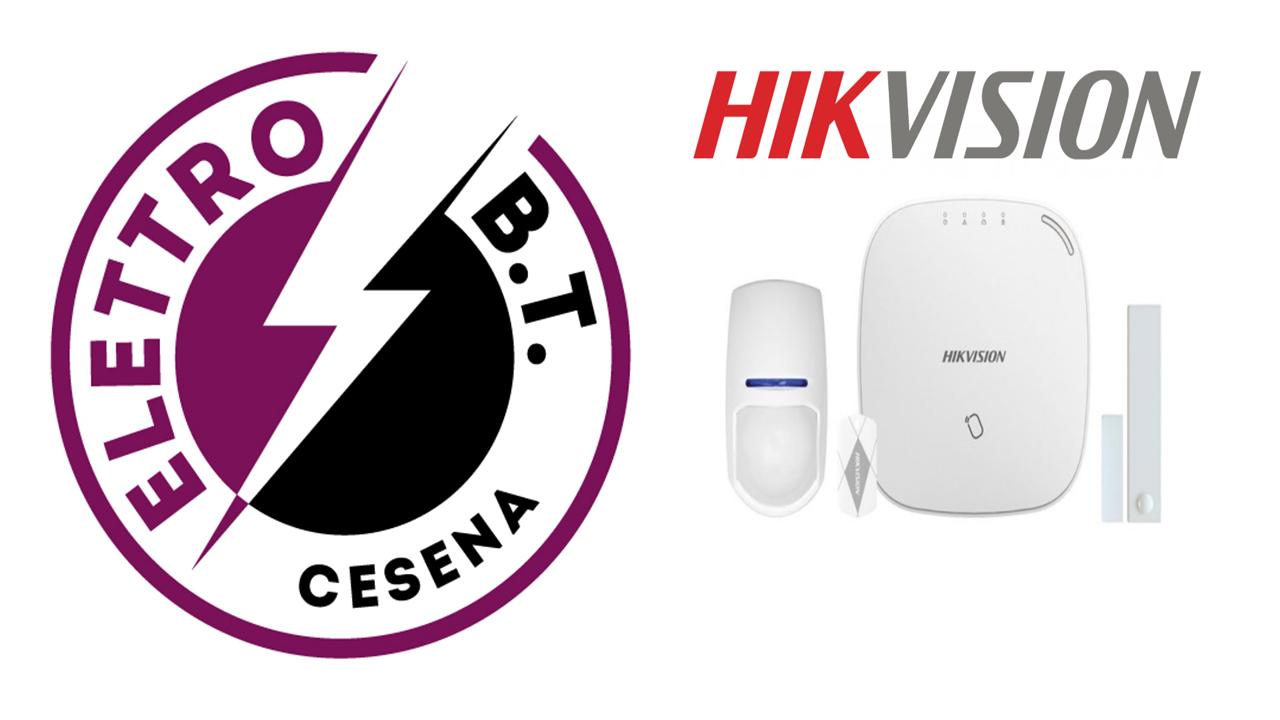 Allarme Wireless Hikvision Sistema di Sicurezza a Cesena Elettro B.T.