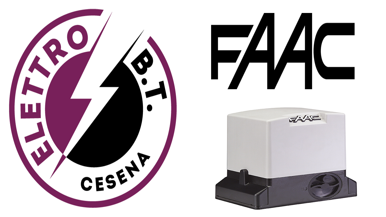 Assistenza Faac a Cesena con sostituzione vecchio motore
