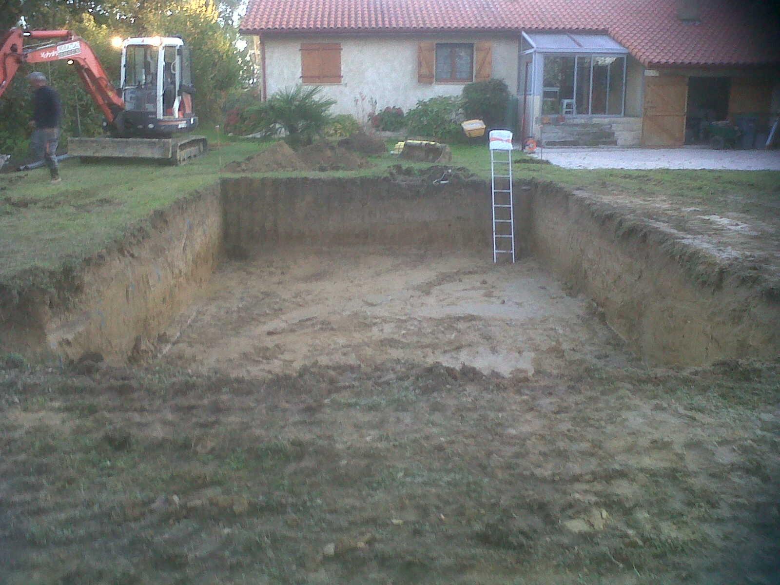Réalisation du terrassement